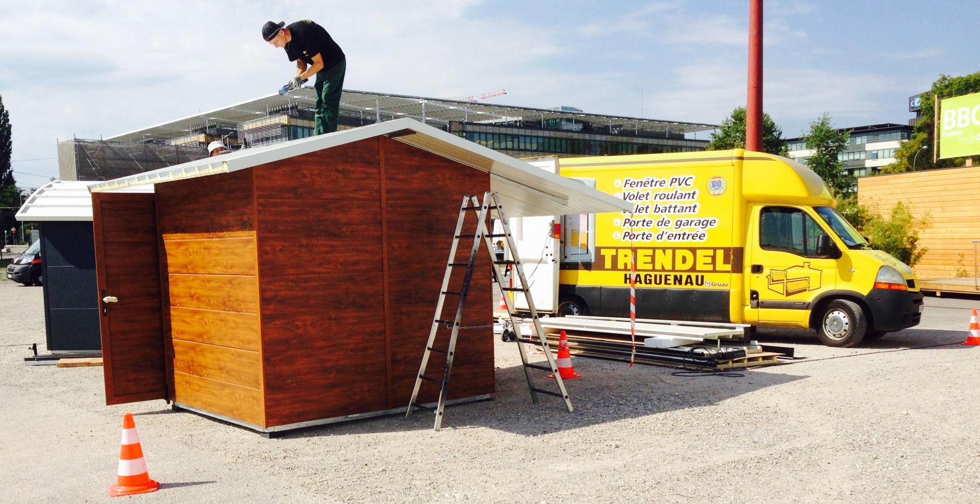 Nouvelle j 3 avant le d but de la foire europ enne de for Trendel haguenau portes de garage