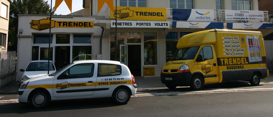 Trendel selestat trendel fabriquants de fen tres pvc for Trendel haguenau portes de garage