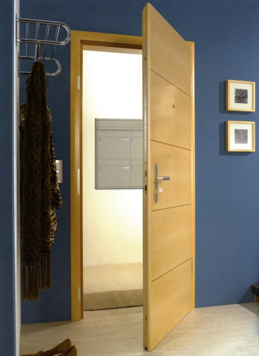 Portes d 39 int rieur portes en bois mod le climat - Modele porte en bois interieur ...