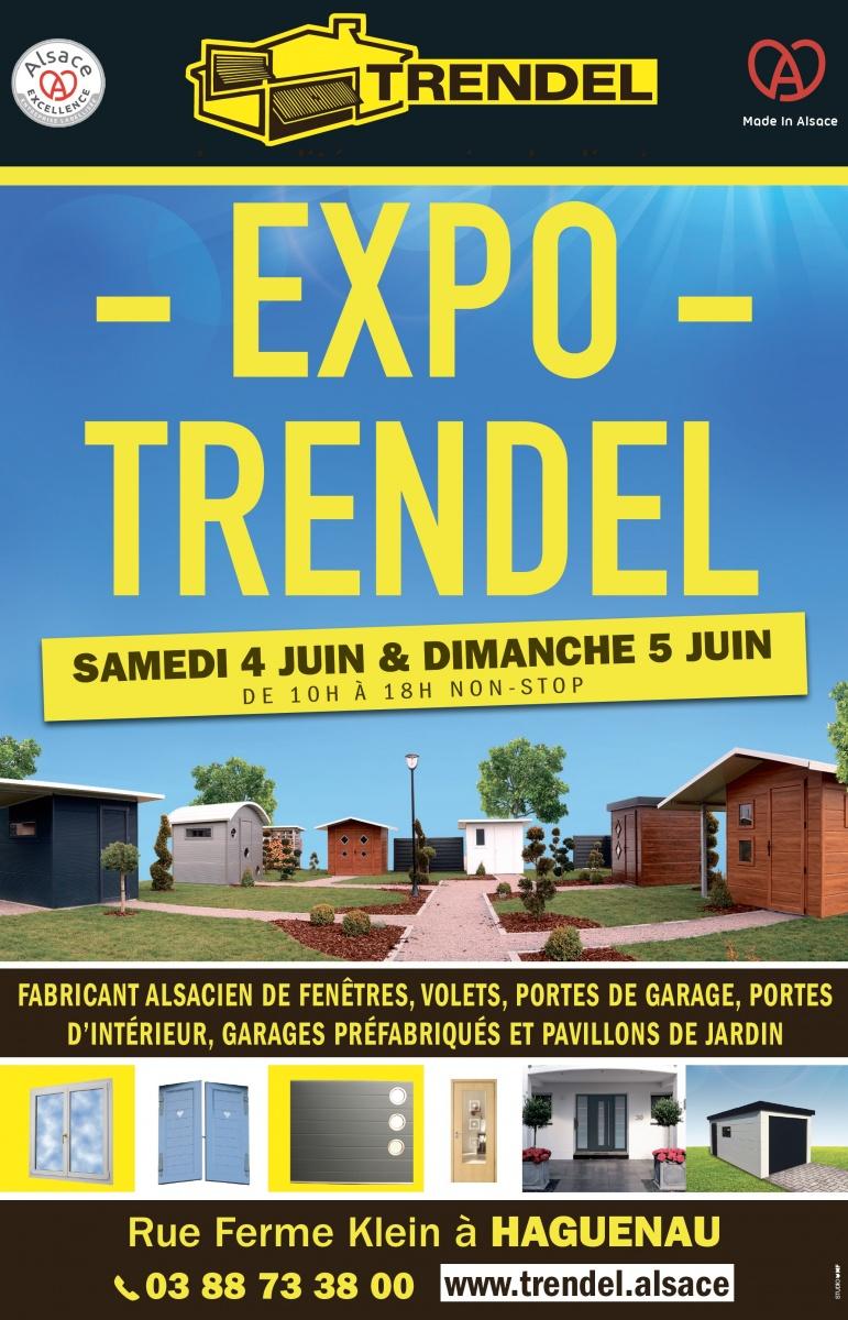 Ev nement expo trendel le 5 juin haguenau trendel for Trendel haguenau portes de garage
