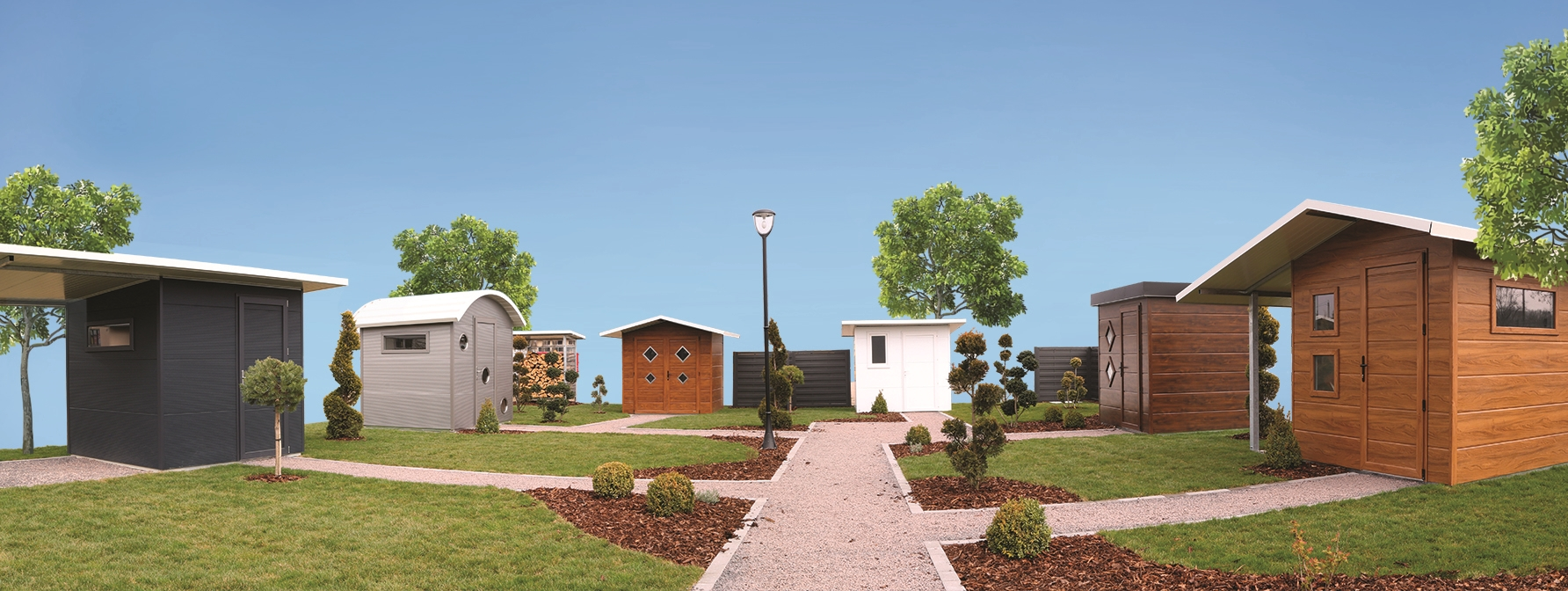 Pavillons de jardin trendel fabriquants de fen tres pvc for Fenetre qui s ouvre vers l exterieur