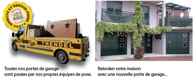 Portes de garage nos ateliers de fabrication trendel for Trendel haguenau portes de garage