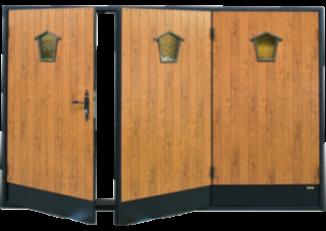 portes de garage a battants trendel fabriquants de fen tres pvc. Black Bedroom Furniture Sets. Home Design Ideas