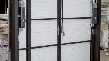 Portes De Garage Porte Basculante à Contrepoids TRENDEL - Porte de garage sectionnelle avec panneau porte pvc