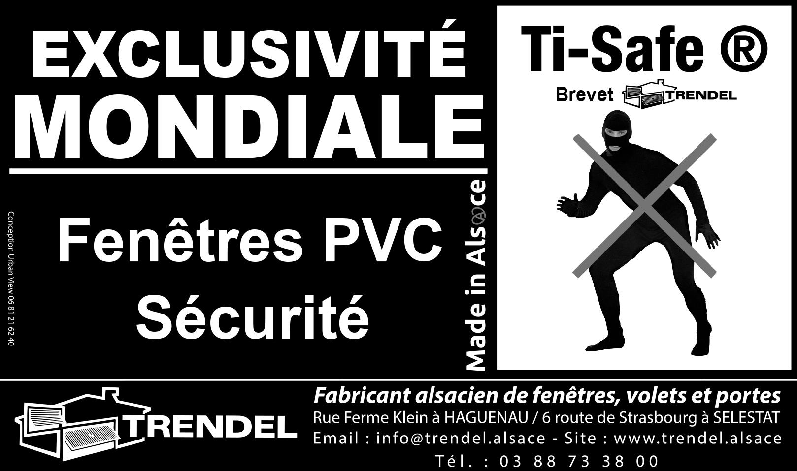 Nouvelle halte aux cambrioleurs trendel for Trendel haguenau portes de garage