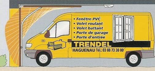Portes de garage trendline trendel fabriquants de for Trendel haguenau portes de garage