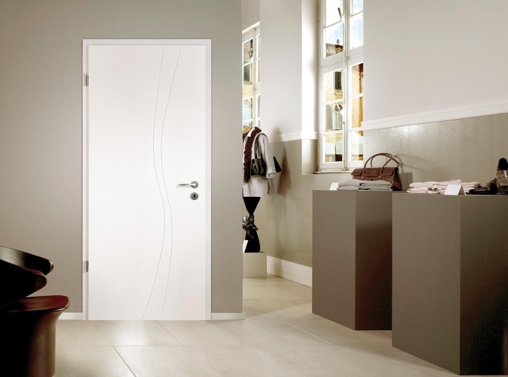 portes d 39 int rieur portes en bois mod le white line. Black Bedroom Furniture Sets. Home Design Ideas