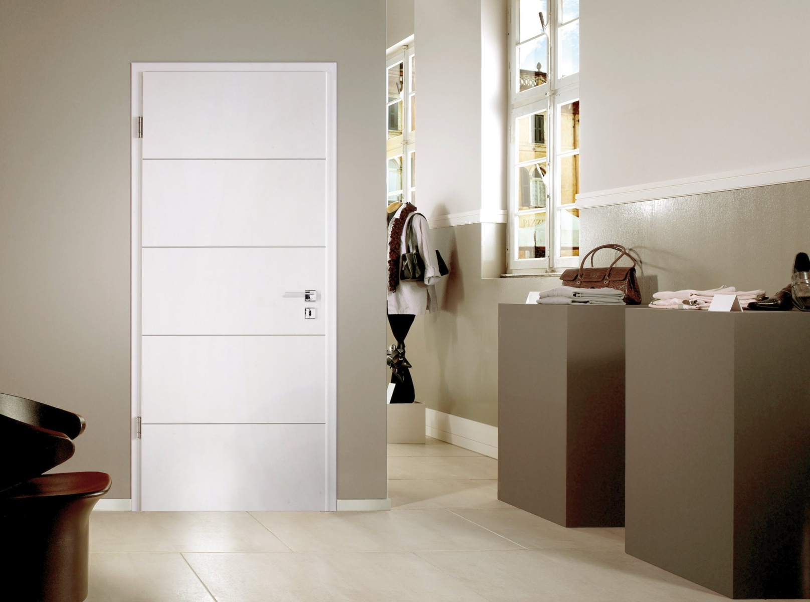 Porte interieur moderne for Porte interieur pas cher design